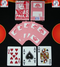 Paulson Playing Cards - Red